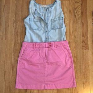 NWOT Vineyard Vines Pink Skirt - Size 8